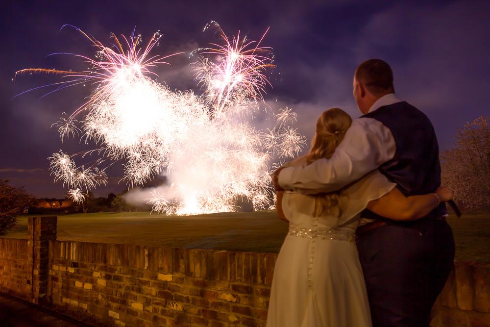stunning fireworks