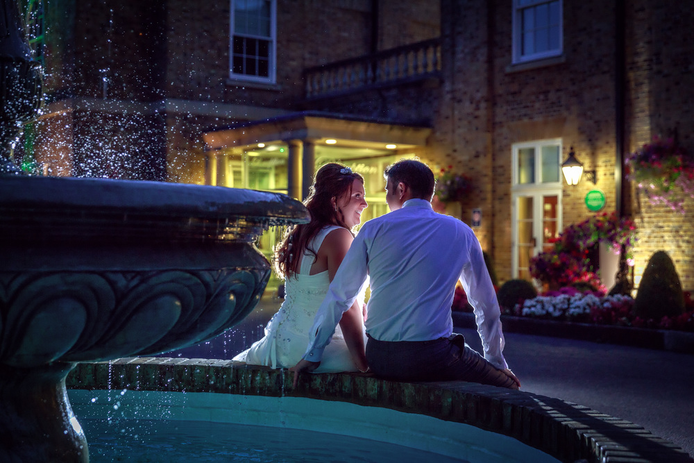 Fountain magic at Orsett hall