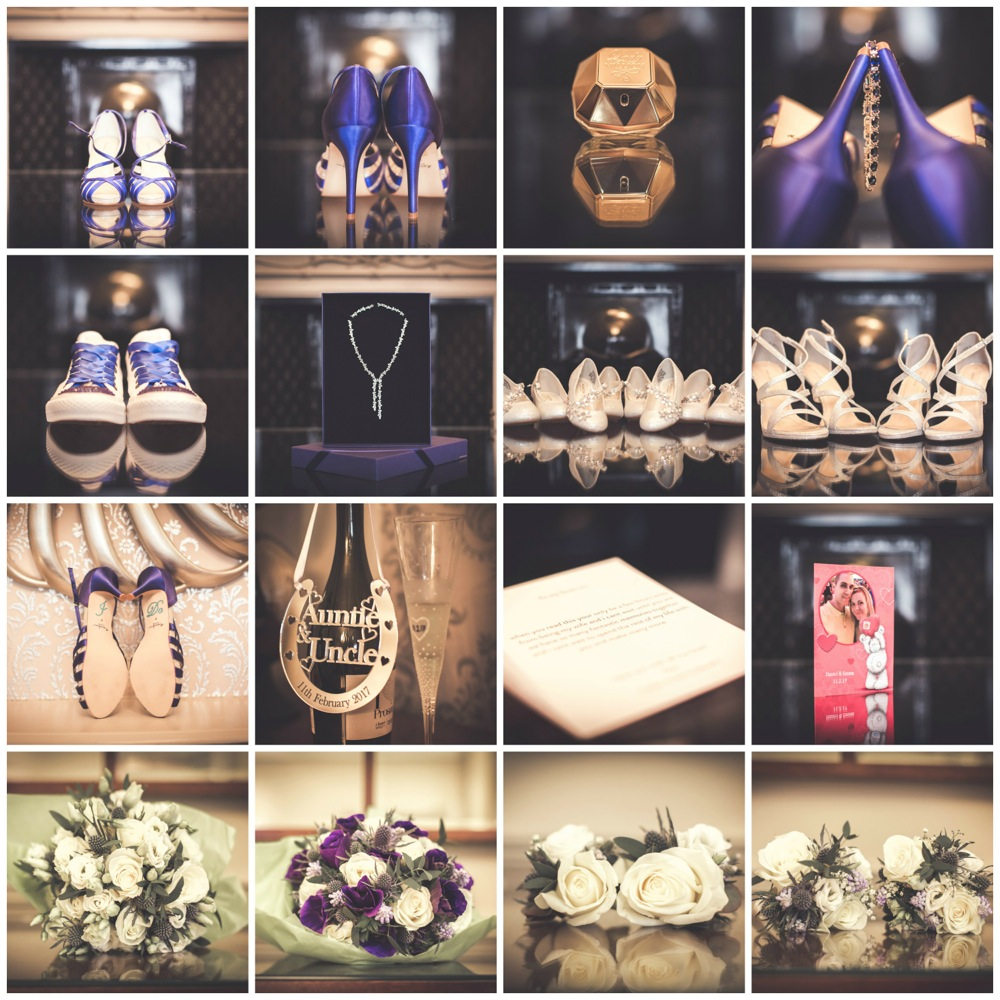 Bridal party wedding details