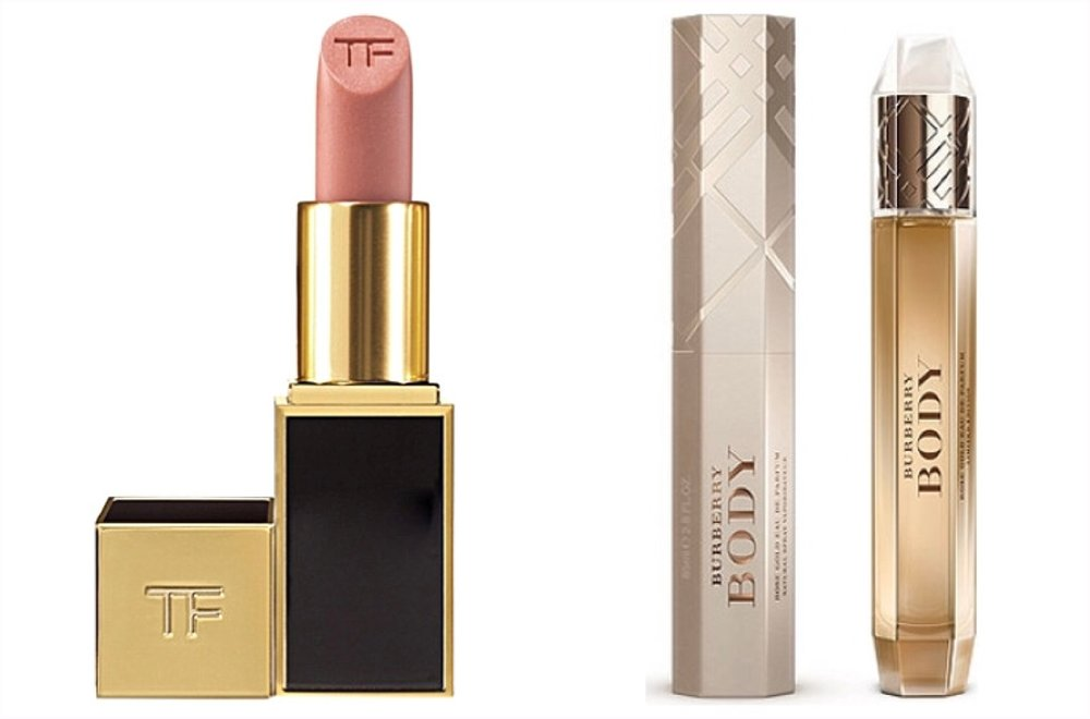 Tom Ford Matte Lip Color + Body by Burberry (personal choices!)