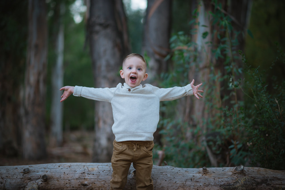 Love capturing the silly moments with kids, too! Ethan (3 years old) did SO good for these! I was truly impressed!! <3