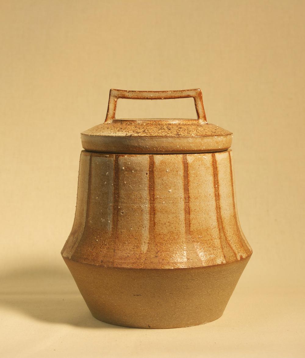 Fluted Jar