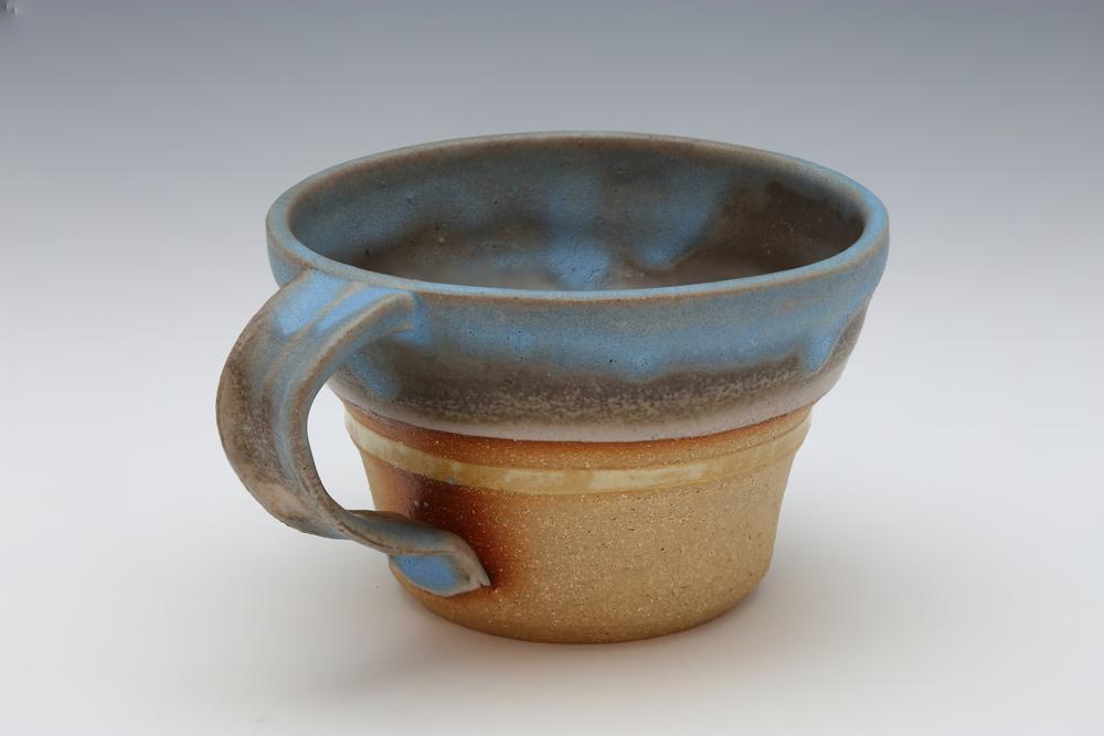 Mug in Yellow & Blue