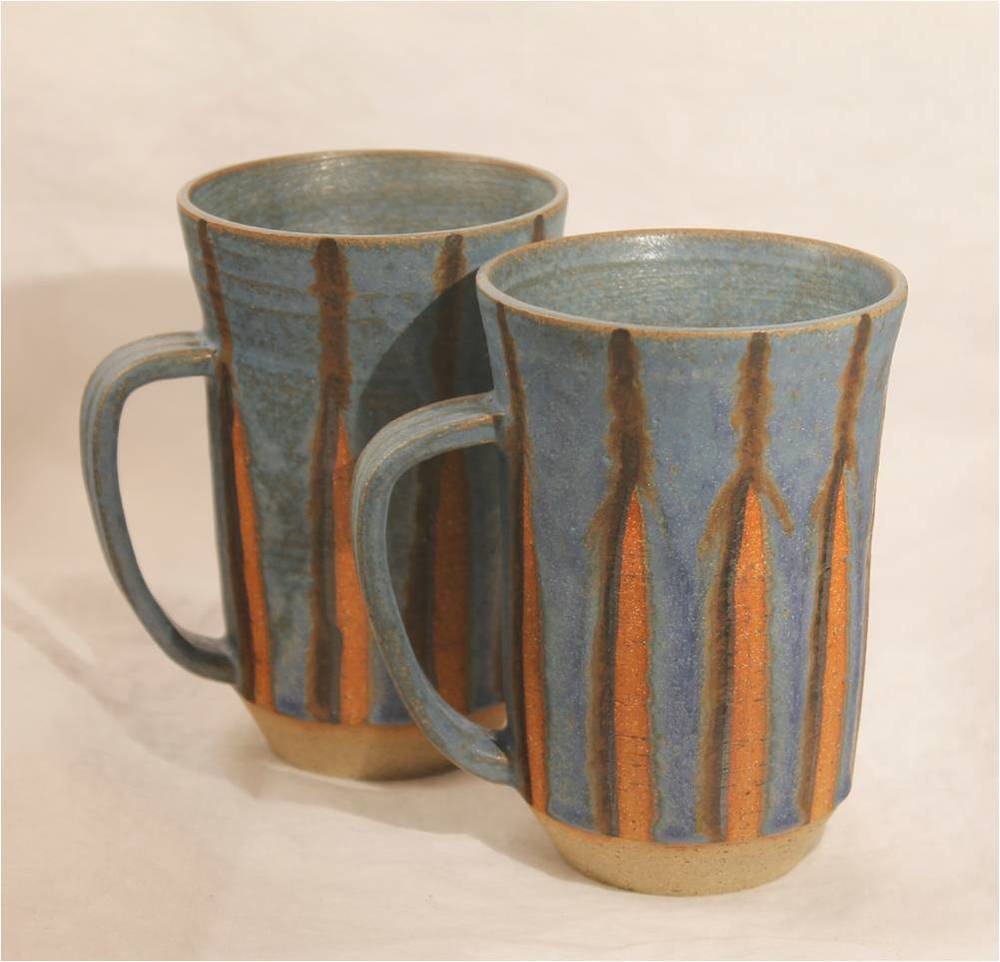 Fluted Barrel Mug