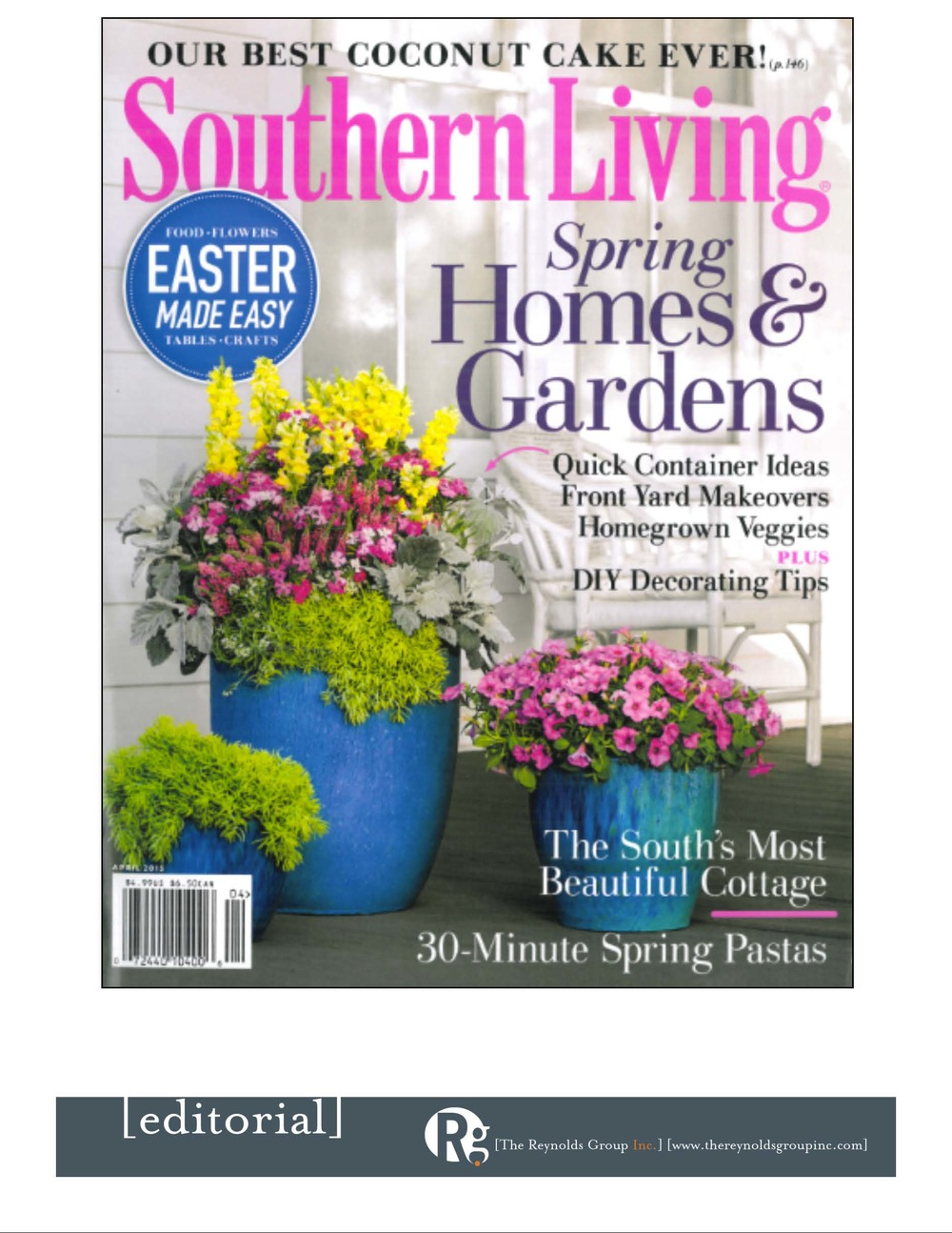 Southern Living April 2015