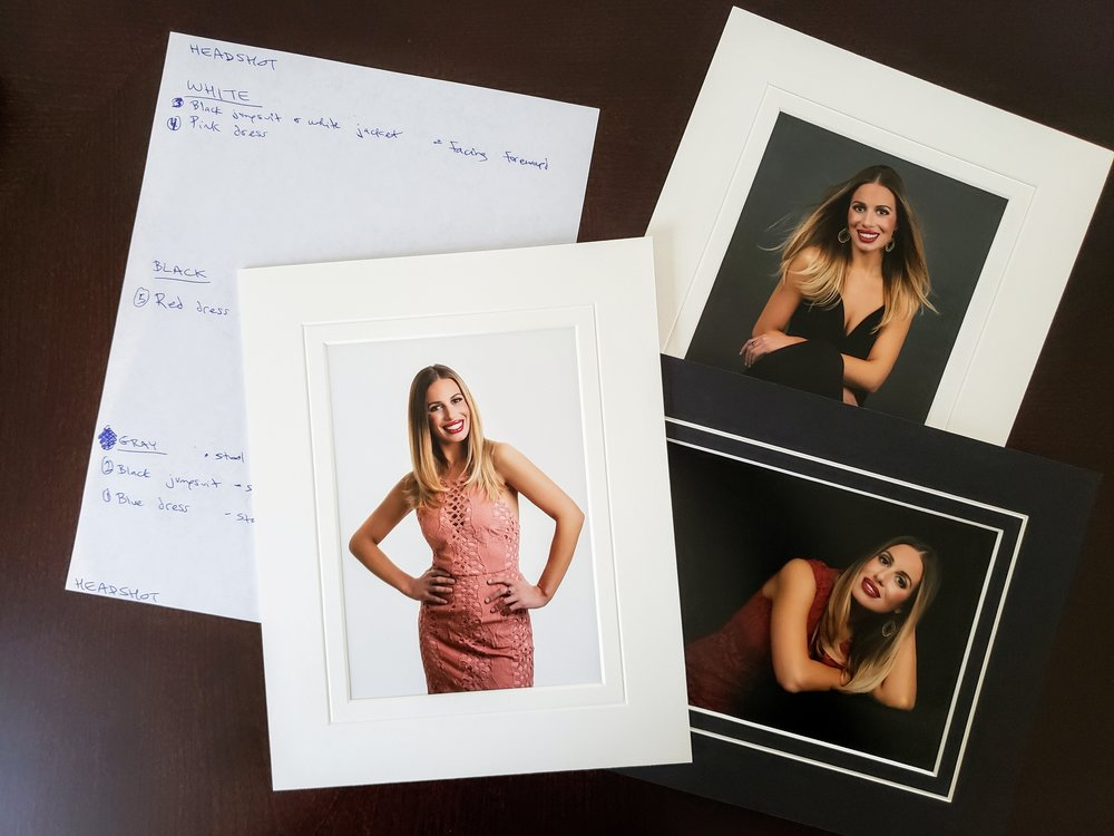 From designing the Portrait Session to the print portraits.