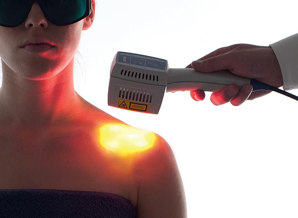 Zastosowanie lasera w fizjoterapii.