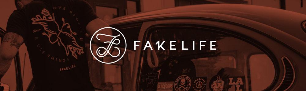 Fakelife Apparel Illustration - Wandel Design