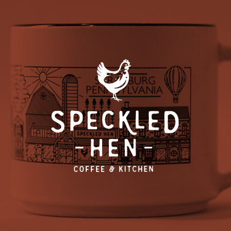 Speckled Hen Mug - Wandel Design