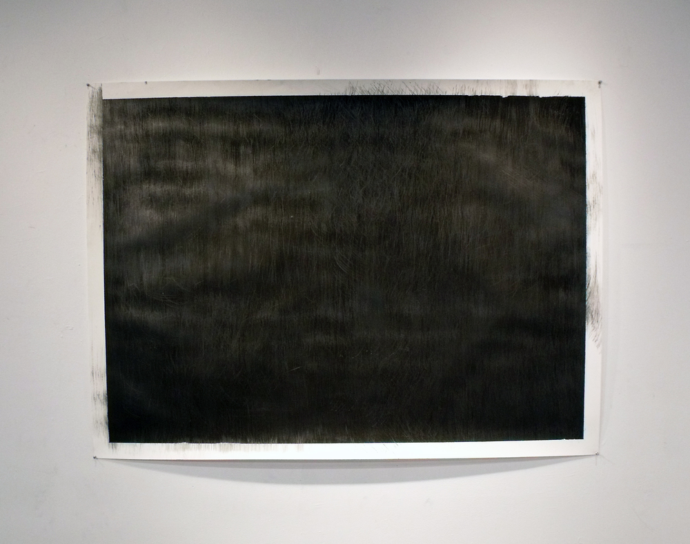 Gesso and graphite on paper 36 in. x 48 in. 2011