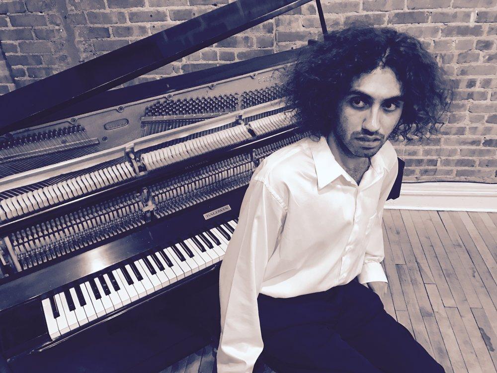 Composer Felix Jarrar. Photo Credit: John Stetch