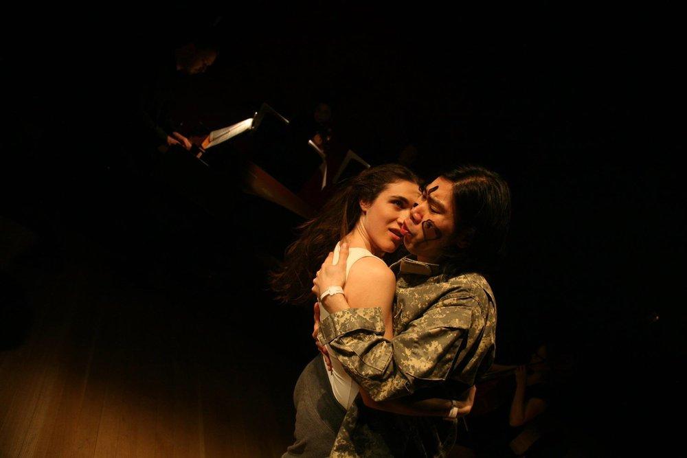 Rachel Duval, Juecheng Chen. Photo credit: Samer Ghanem