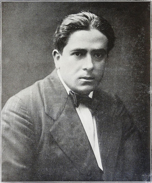 Francis Picabia, photograph published in Les Peintres Cubistes, 1913.