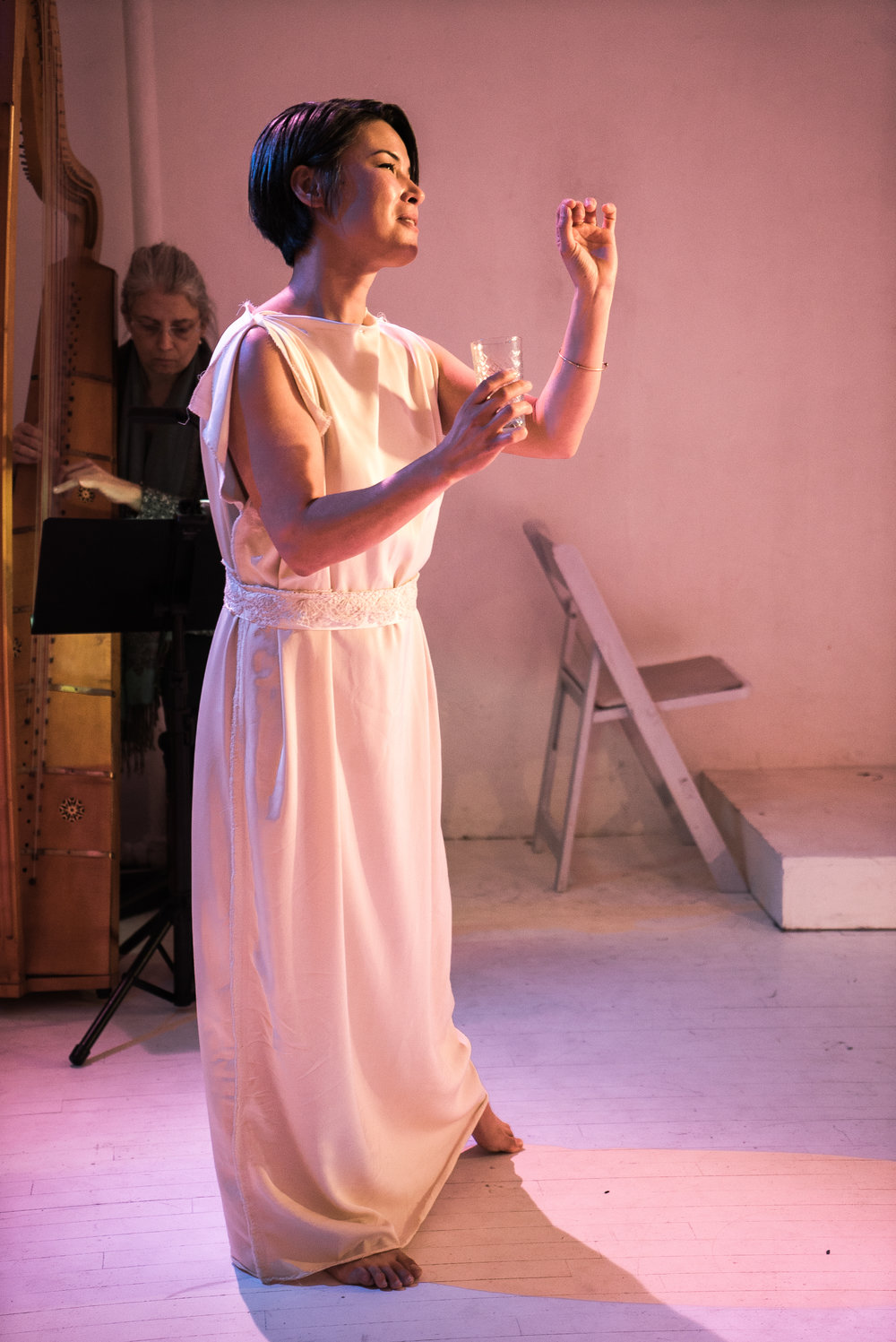 Brittany Fowler in Euridice. Photo credit: Lucas Godlewski