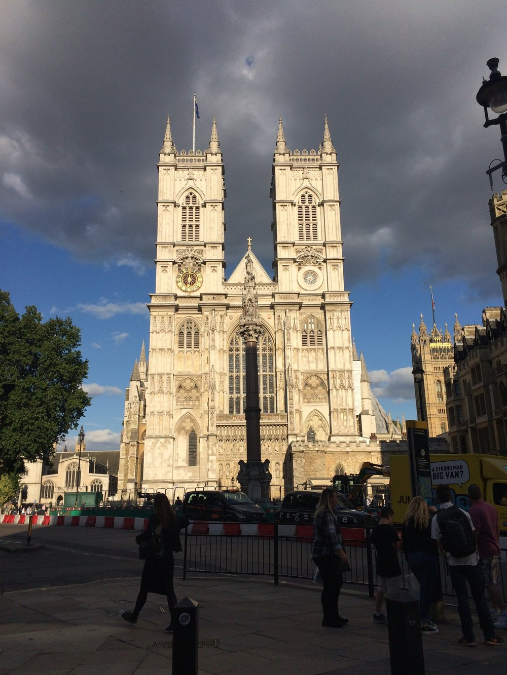 Westminster Abbey. Photo courtesy of Jane Hoffman.
