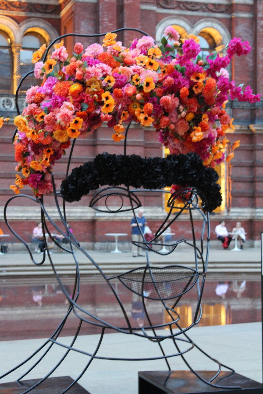Part of the Frida exhibit at the Victoria & Albert Museum.