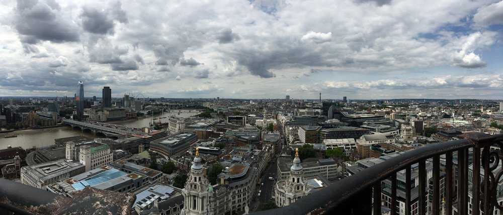 The view from St. Paul's Cathedral