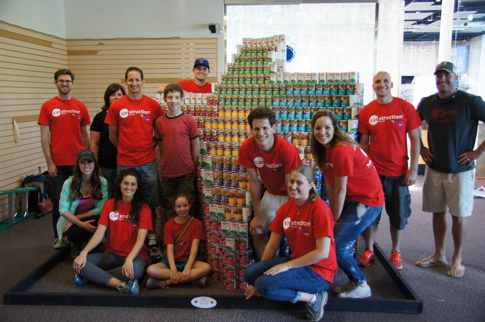 "Canstruction 2014: ""A Diverse CANvas, One Lone Star"""