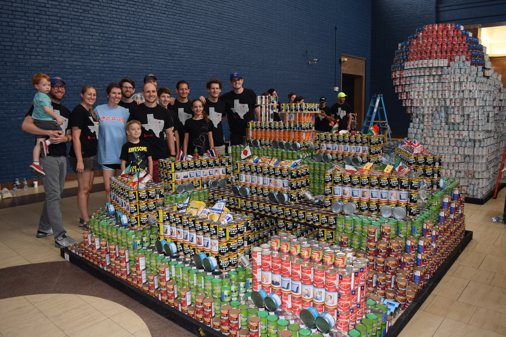 "Canstruction 2015: ""I Think I CAN End Hunger"""