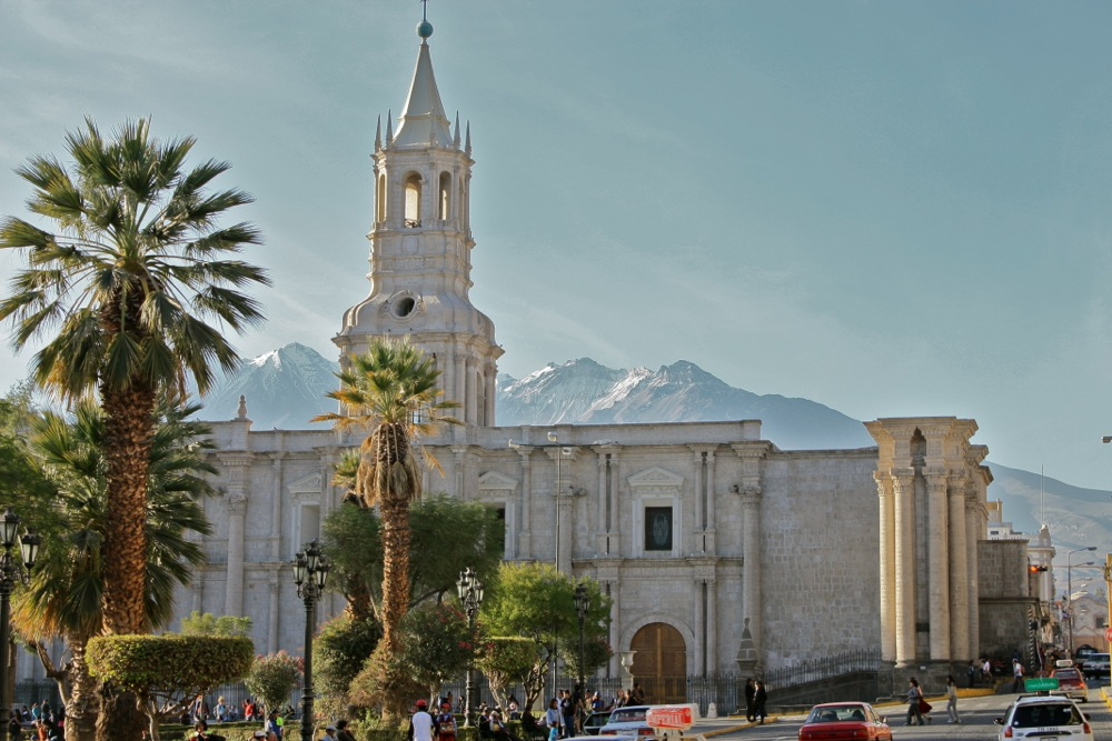 Welcome to Arequipa, Peru