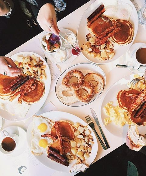 Brunch is the best. The end. (📷 @gilliehouston) @beautyandessexnyc