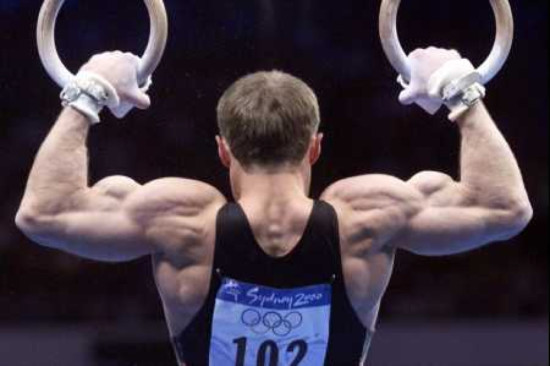 I don't seem to recall ever competing in the Olympics, but that's definitely my rear profile.