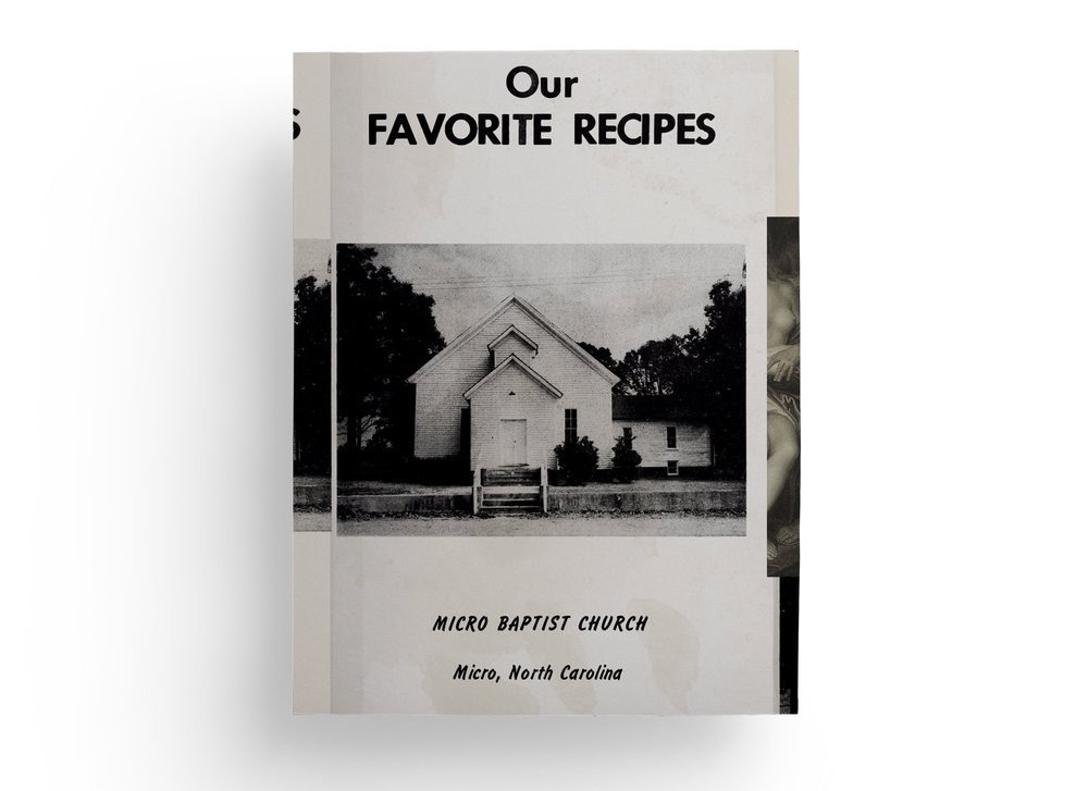 OUR FAVORITE RECIPES - screen print on canvas