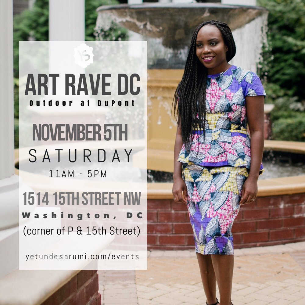 ART RAVE OUTDOOR AT DUPONT WHERE ART MEETS FASHION