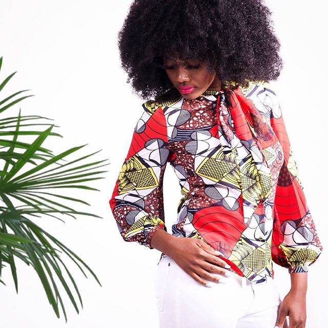Love the way you look at work.. #YSRemiBlouse #ChiffonBlouse Shop YetundeSarumi.com