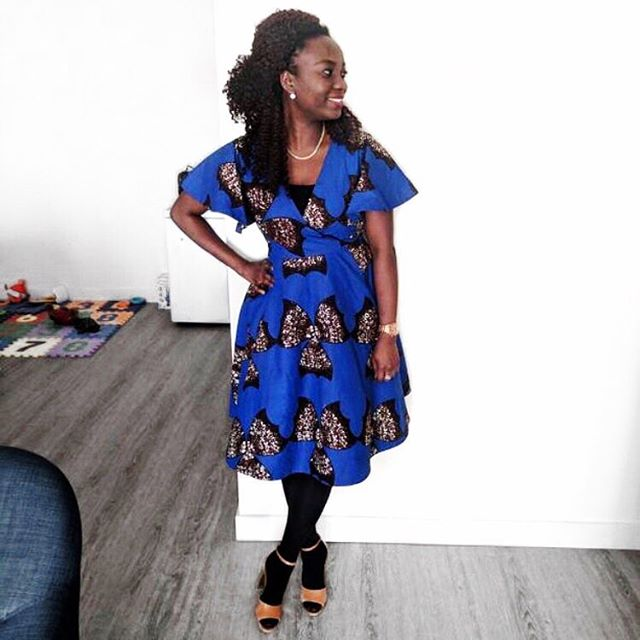 @buchees_closet looking lovely is her CECEY Dress... Thank you for sharing. #YSxMe 💙 #YSCeceyDress YetundeSarumi.com