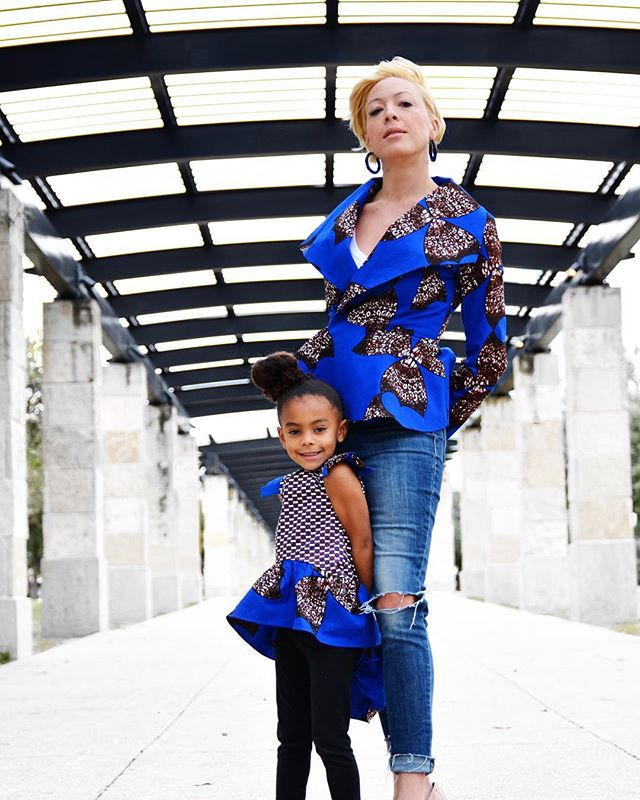 Happiness is... Mother and Daughter time.. 💙 👸🏽 @DevinPartyof3 📷 @IshaGainesPhoto www.yetundesarumi.com #YSMiniMe #yetundesarumi