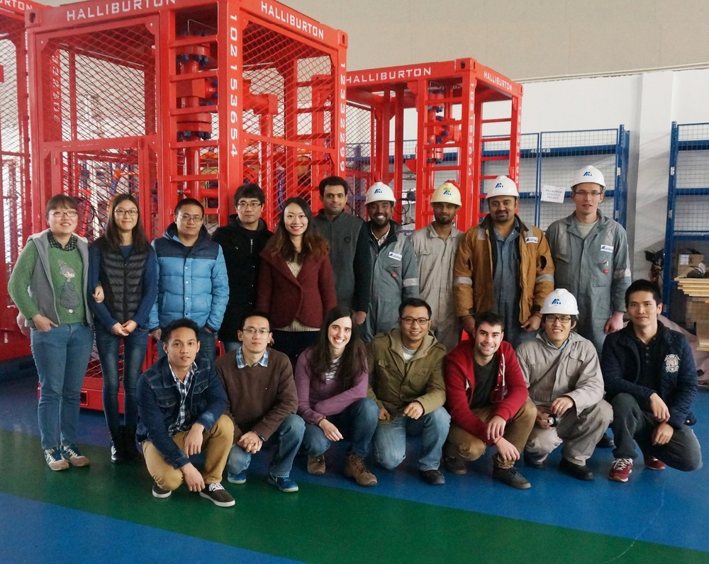 MEDENG Shanghai Team.