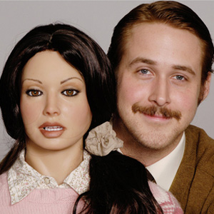 Ryan Gosling and his sex doll girlfriend in the movie  Lars and The Real Girl
