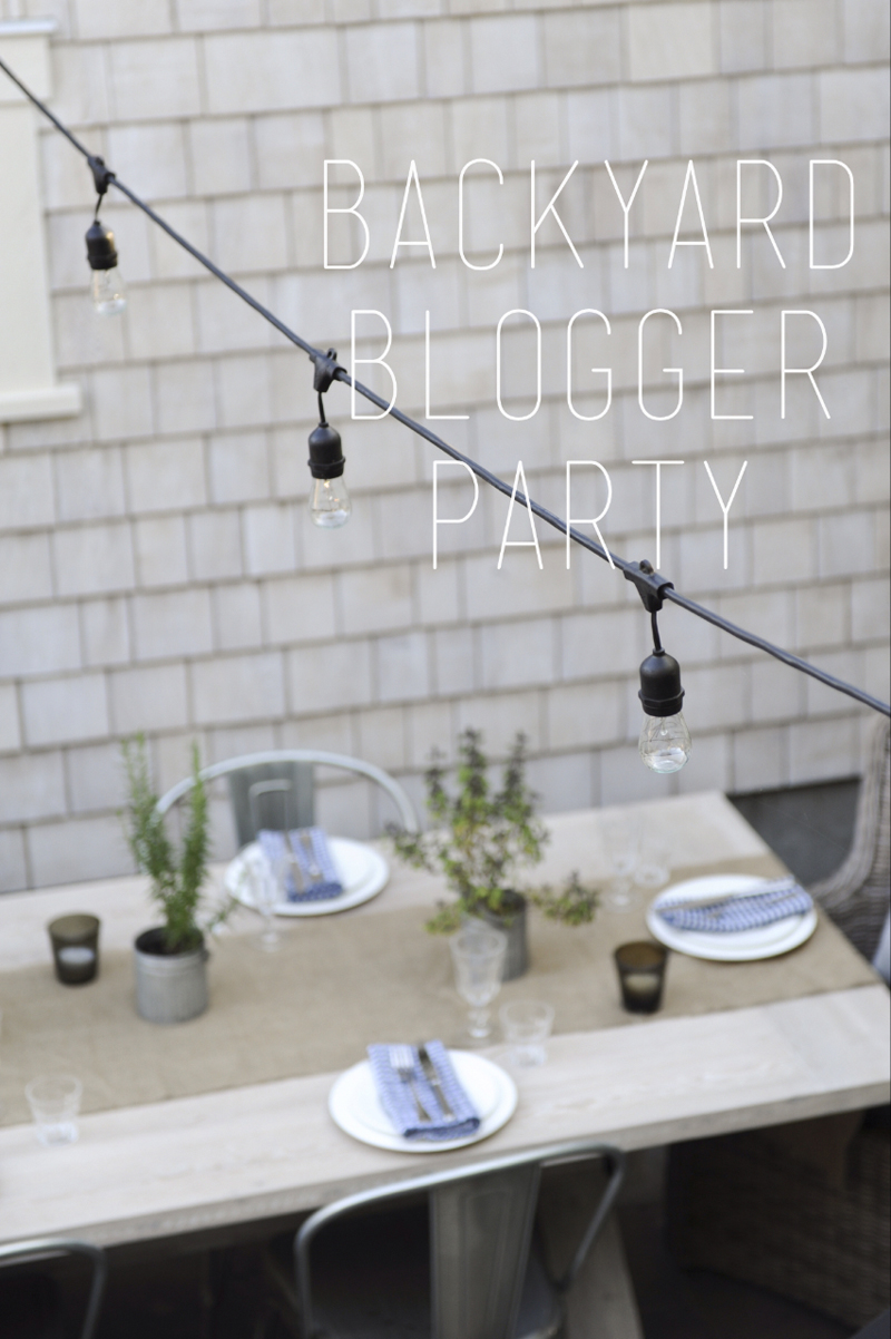 Backyard blogger party T Ayton Photography