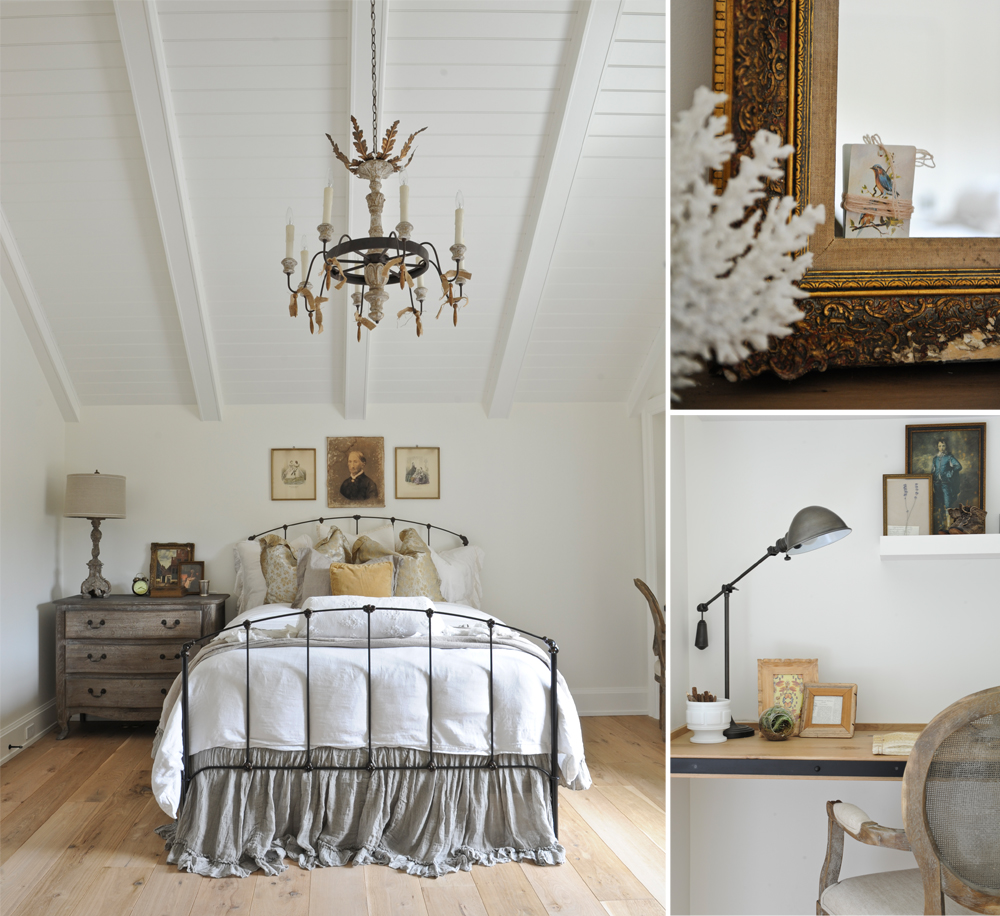 French farmhouse bedroom decor