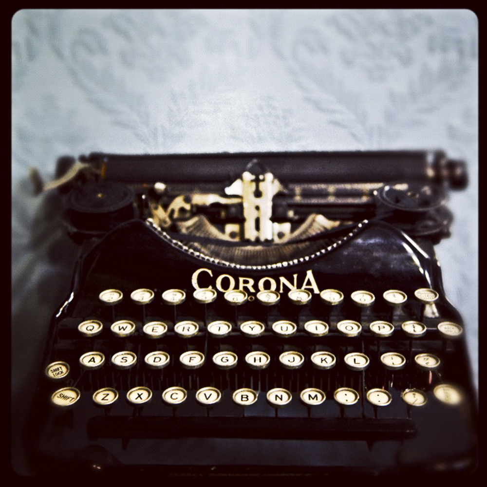 Typewriter Tracey Ayton Photography