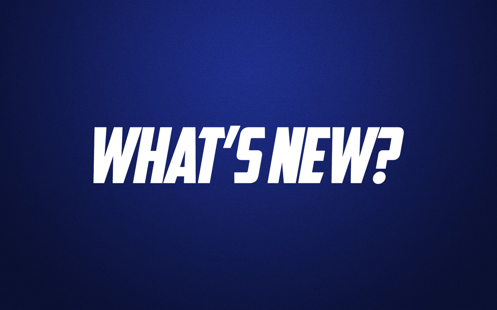 TAKE A LOOK AT WHAT'S NEW AT WBF