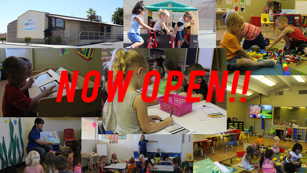 CRE8TIVE KIDS CAMPUS IS NOW OPEN! ENROLL TODAY!!