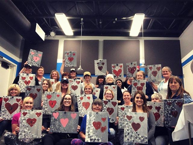 The ladies had a great time at paint and praise night tonight! If you missed it, rest assured that there will be another for you to enjoy soon!