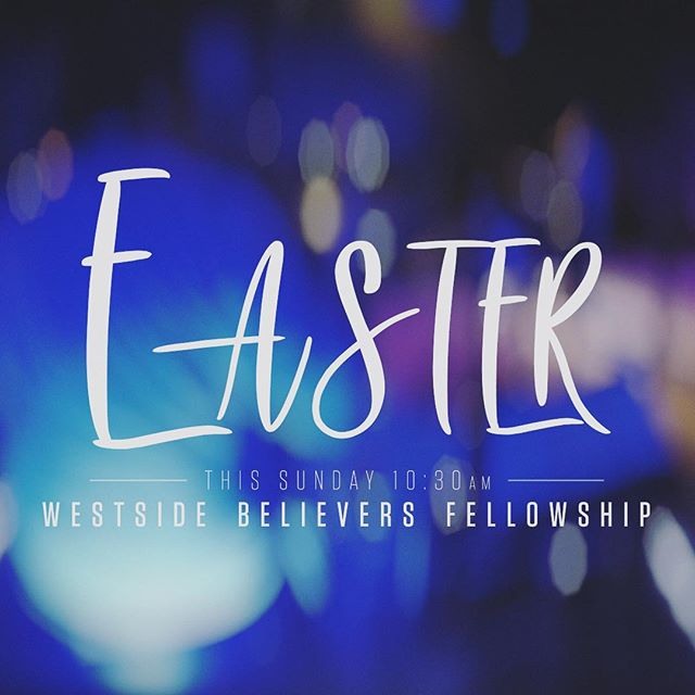 Don't miss Easter service this Sunday at 10:30am! We can't wait for you to join us to celebrate our risen savior!