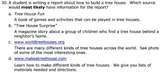 SBAC -3rd Grade -   Research sample