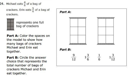 Free SBAC Practice Test 4th Grade -   Problem Solving sample