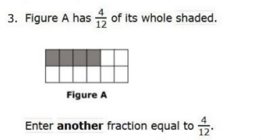 OAKS Practice Test Online - 4th gradeFractions sample