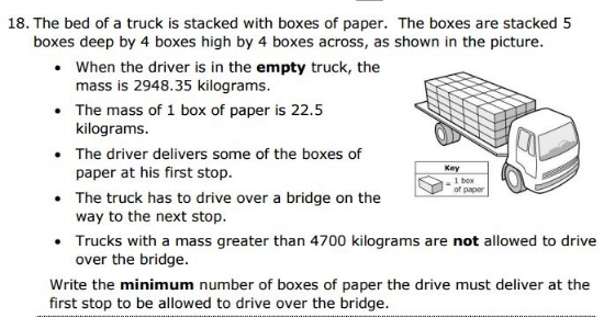 5th gradeProblem Solving sample