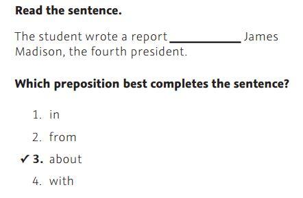 NWEA Practice Test 3rd Grade Test  -Grammar sample