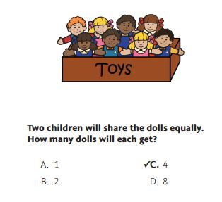NWEA Practice Test 3rd Grade Test  - Problem Solving sample