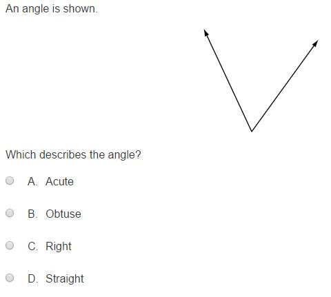 MCA Practice Test - 4th Geometry sample