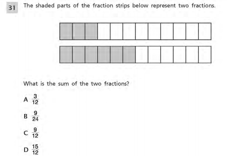 NYS Math Practice Test 4th Grade - Perpendicular Lines sample