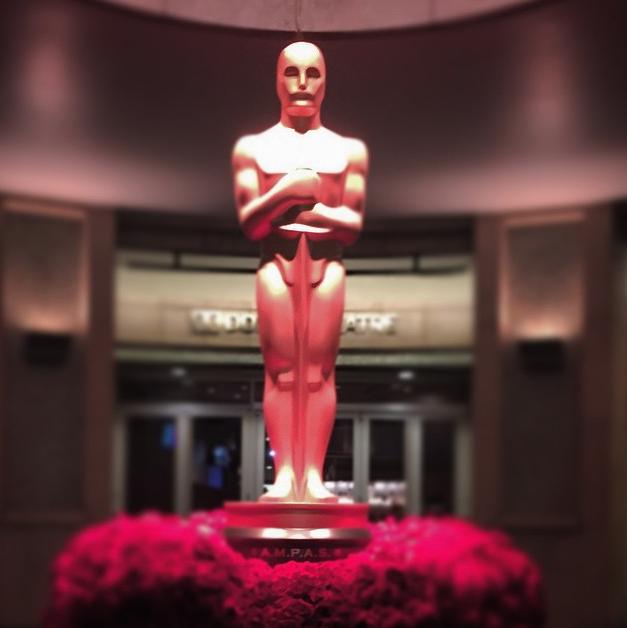Photo Booth Oscars 2015 entrance