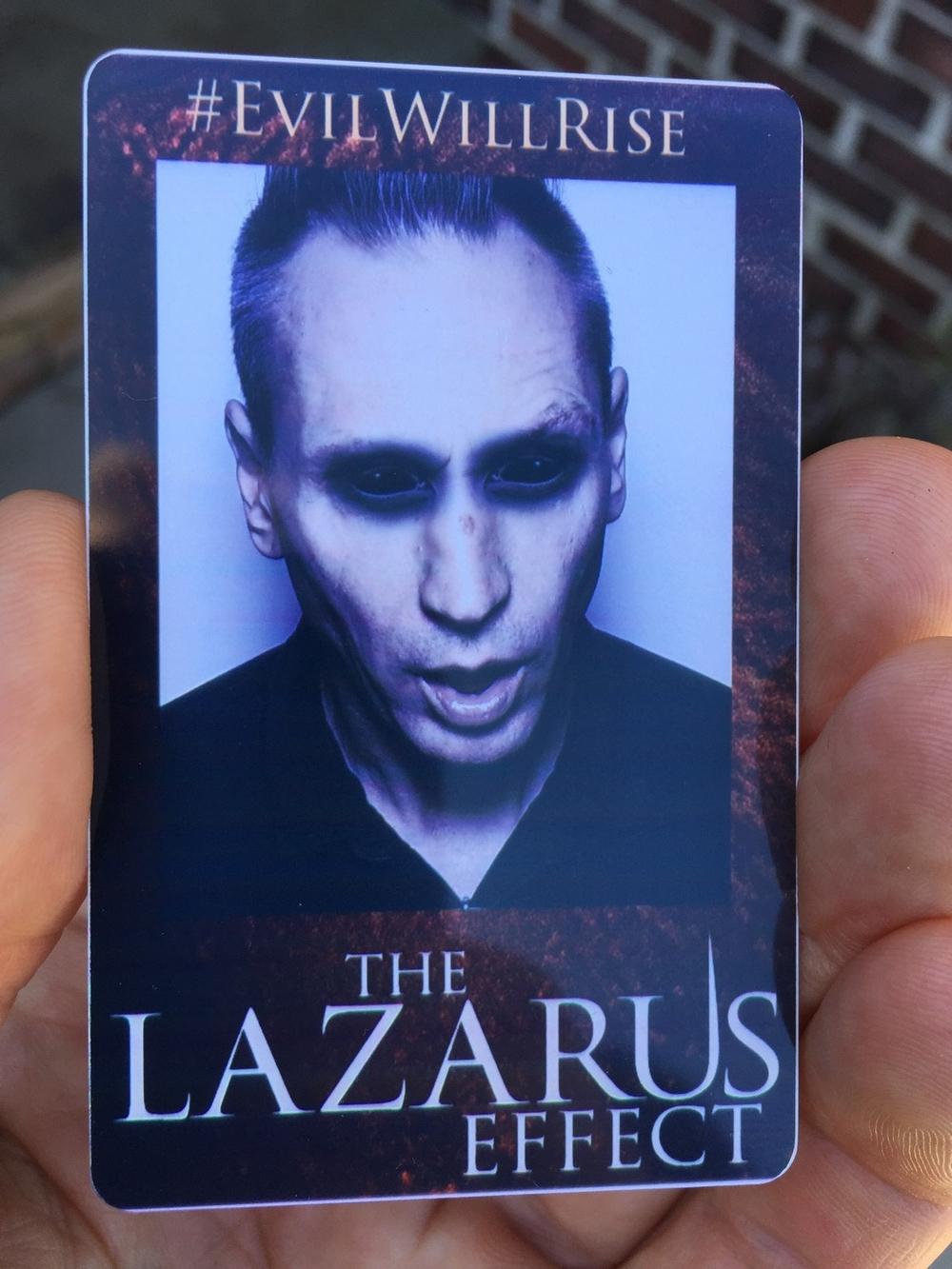 Custom Photo Booth ID Lazarus Effect